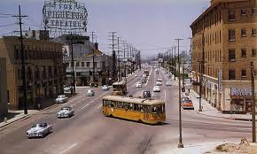 The yellow cars of the Los Angeles Railway are historic icons which we abandoned in favor of its now infamous freeway network.