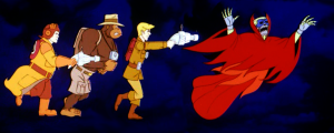 Is that really Prime Evil, or the CEO of Filmation they're chasing?